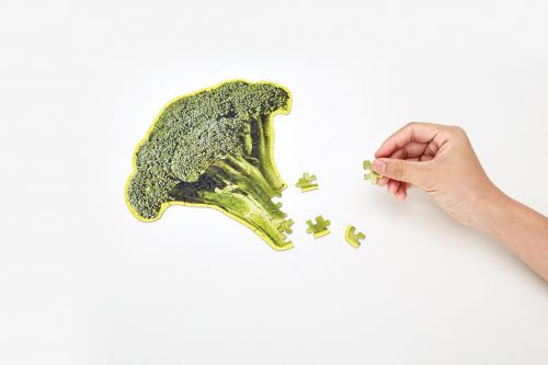 Little puzzle thing broccoli