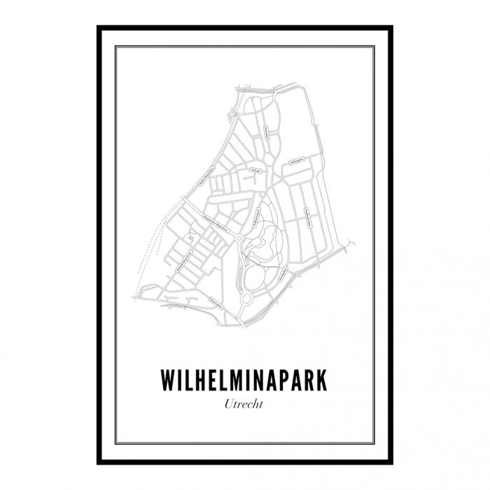 Utrecht Wilhelminapark ansichtkaart