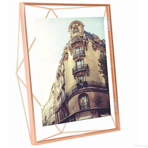 Prisma 8x10 photo display copper