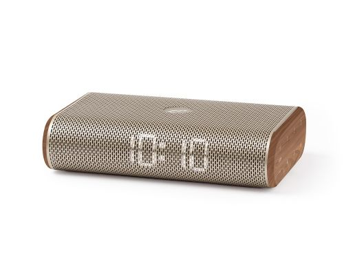Miami alarm clock radio brown wood