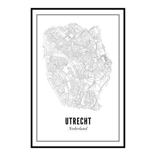 Utrecht stad ansichtkaart