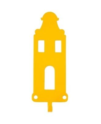Jashaak grachtenpand geel
