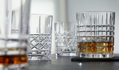Whiskey glas set van 4 Highland