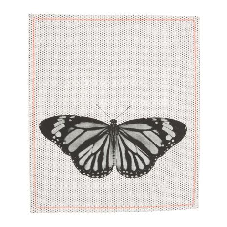 Tea towel dotty butterfly