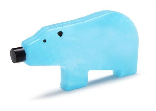 Blue bear ice pack mom