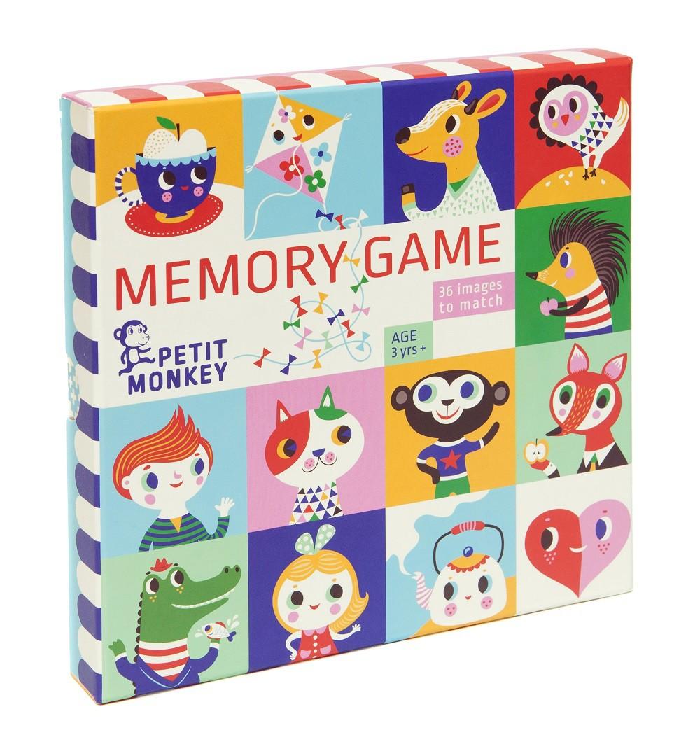 Memory game 72 stuks