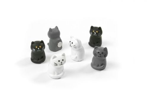 Magnet cat set of 6