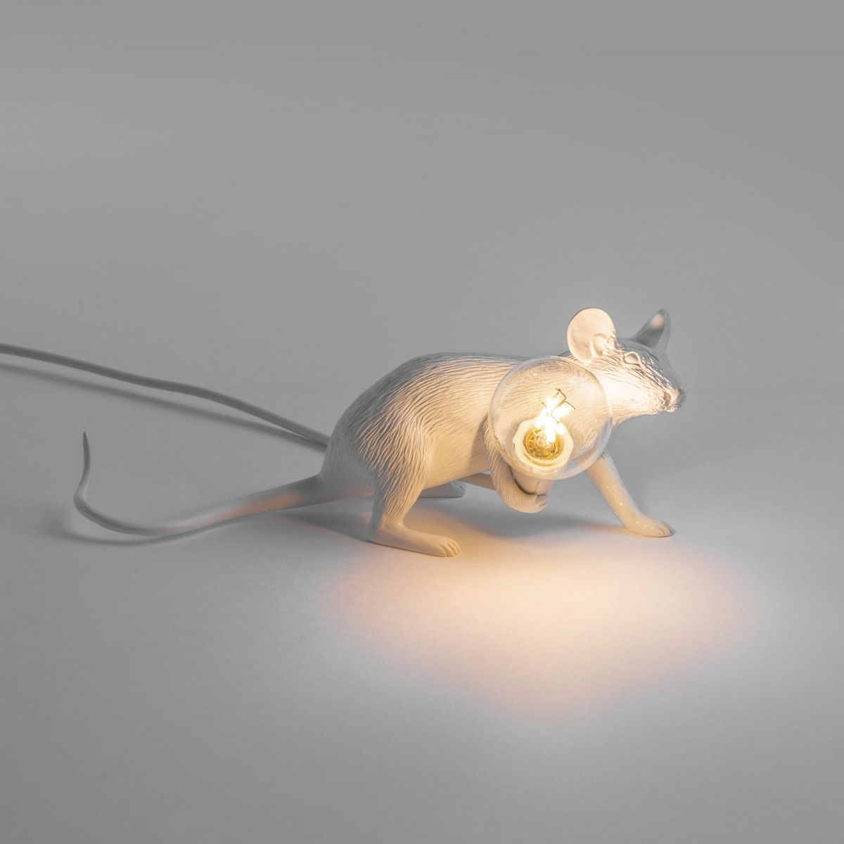 Mouse lamp Lop lying down