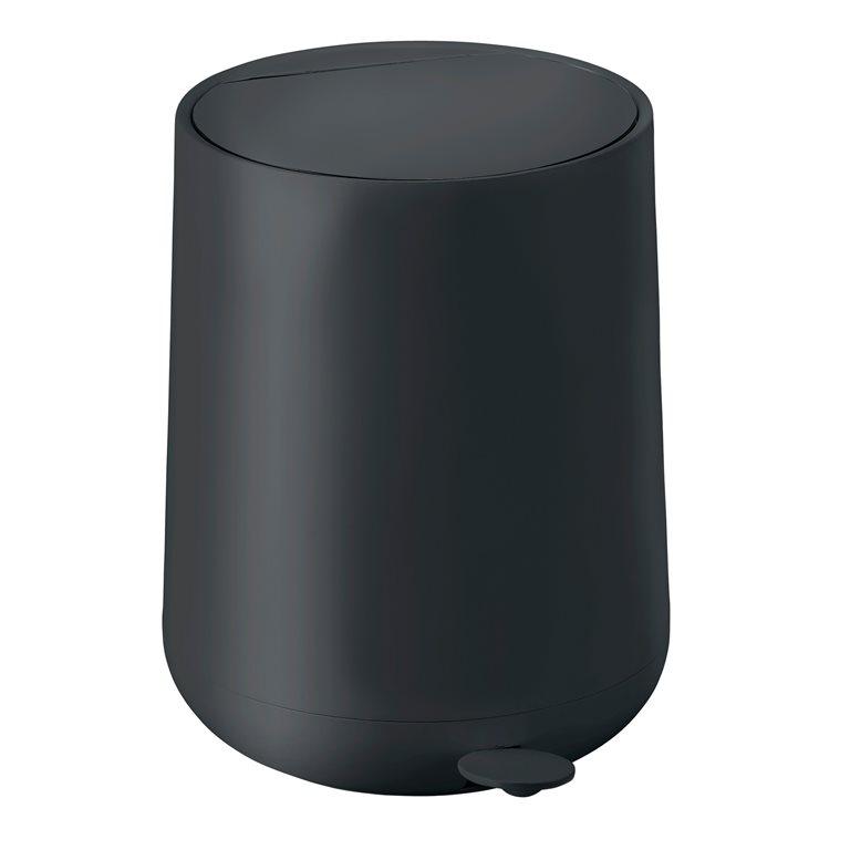 Pedal bin black nova one 5 L