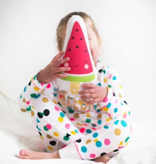 Kussen watermeloen ijsje