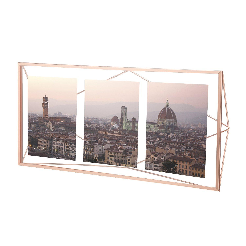 Prisma multi photo display copper