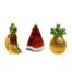 Fruit ornaments set van 3