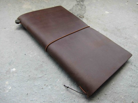 Midori traveller's notebook regular brown