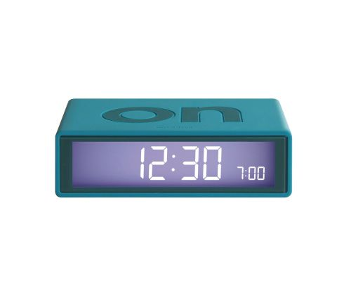 Flip clock duck greenblue