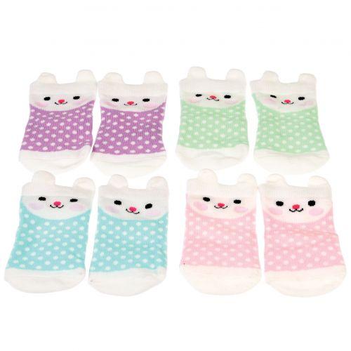 Bonnie the bunny baby socks 4 paar