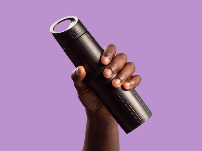 Be O bottle zwart