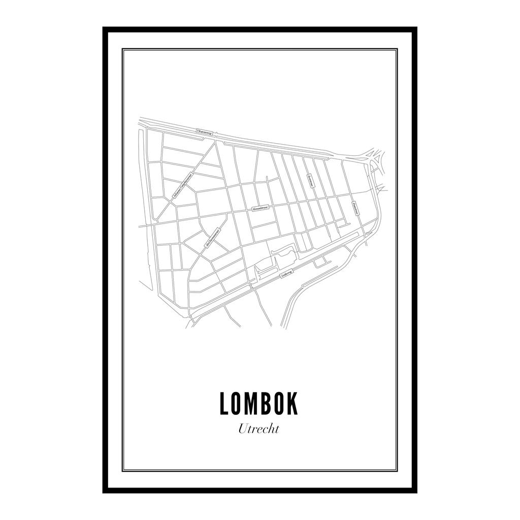 Utrecht Lombok ansichtkaart