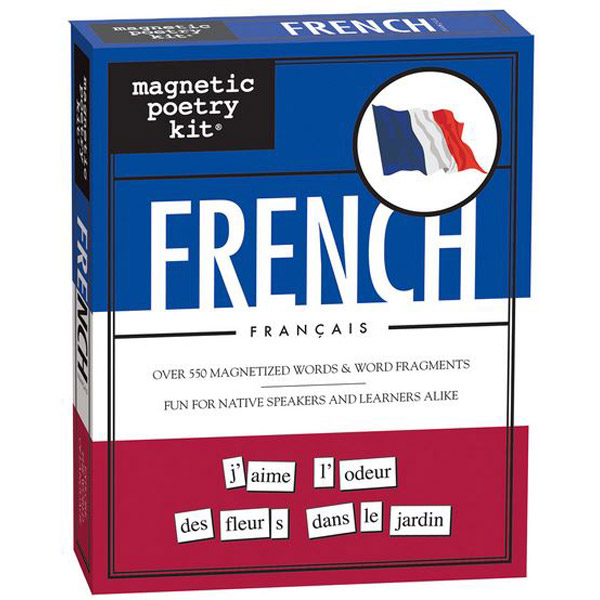 Magnetic poetry French