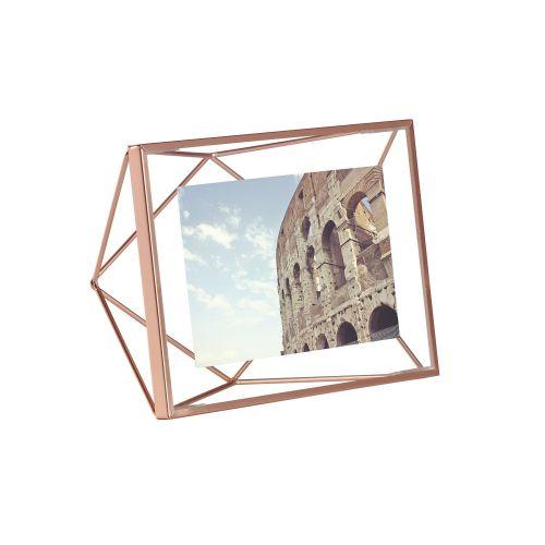 Prisma 4x6 photo display copper