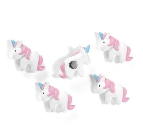 Magnet unicorn set van 5