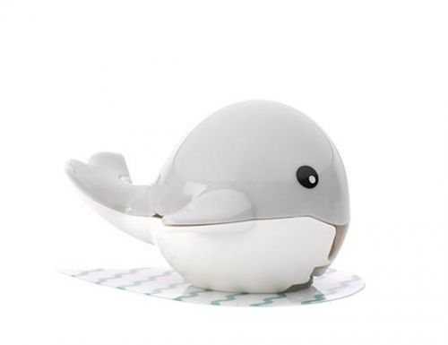 Whale toothbrush holder