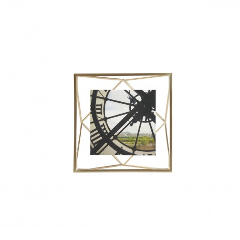 Prisma 4x4 photo display brass