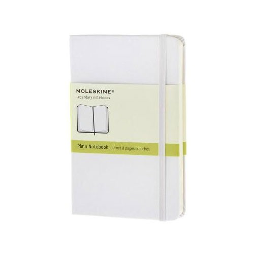 Moleskine - Pocket - Plain notebook - White