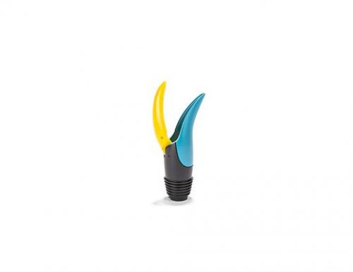 Toucan wine pourer & stopper