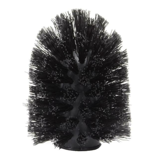 Touch toilet brush replacement black