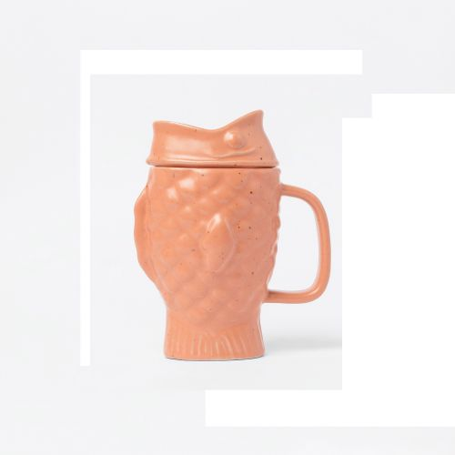 Taiyaki tea mug infuser melon