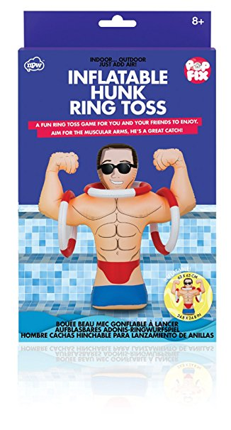 Pop fix hunk ring toss