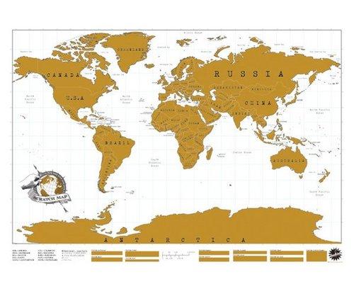 Scratch worldmap XL edition
