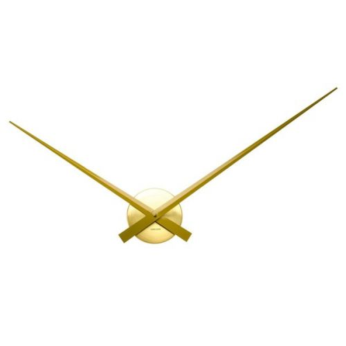 Wall clock little big time gold