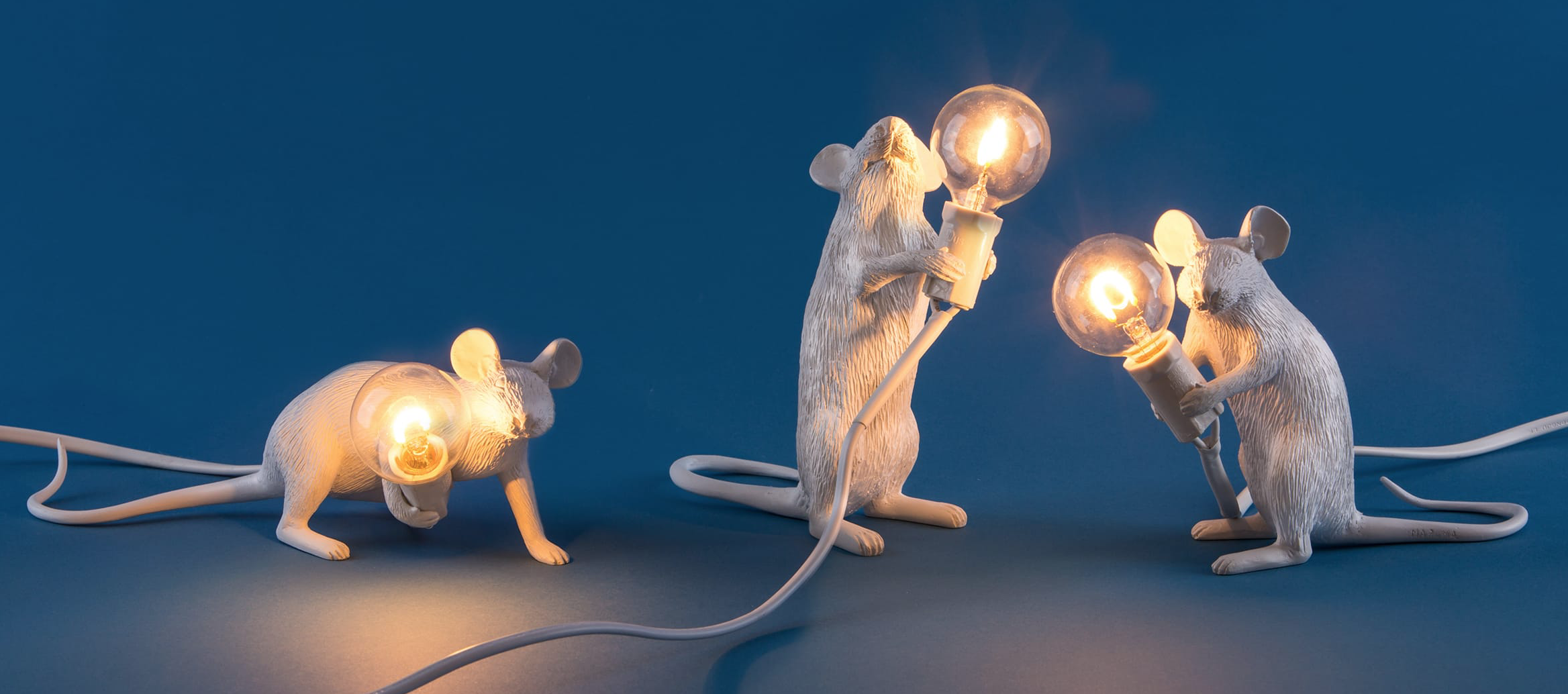 Mouse lamp Step standing