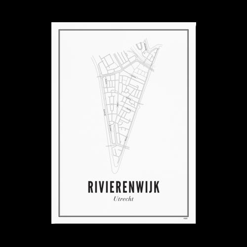 Utrecht Rivierenwijk 30x40