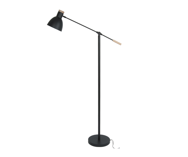 Floor lamp stark matt black