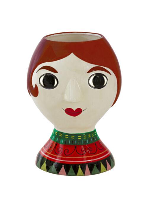 Vase senora ceramic