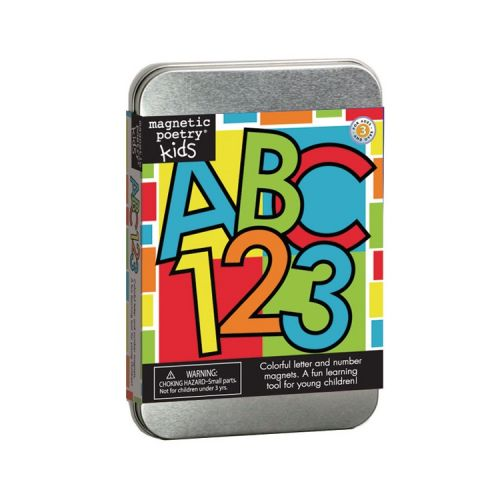 Magnetic poetry kit abc 123