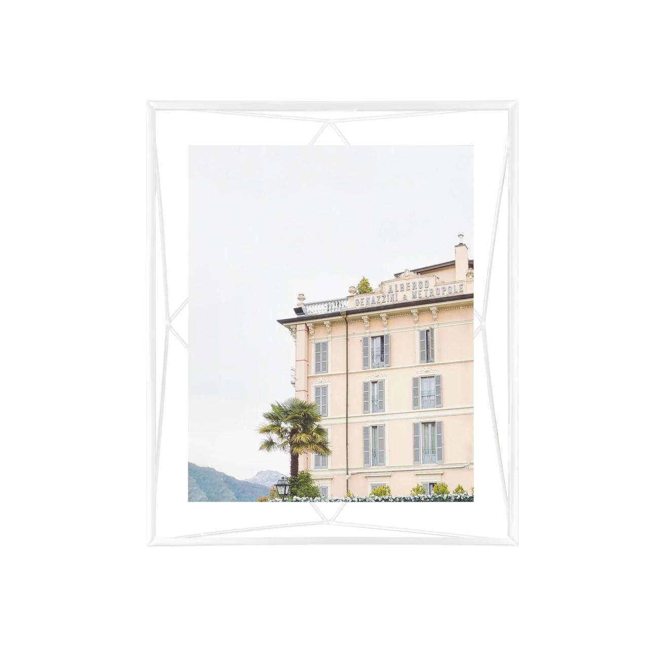 Prisma 8x10 photo display white