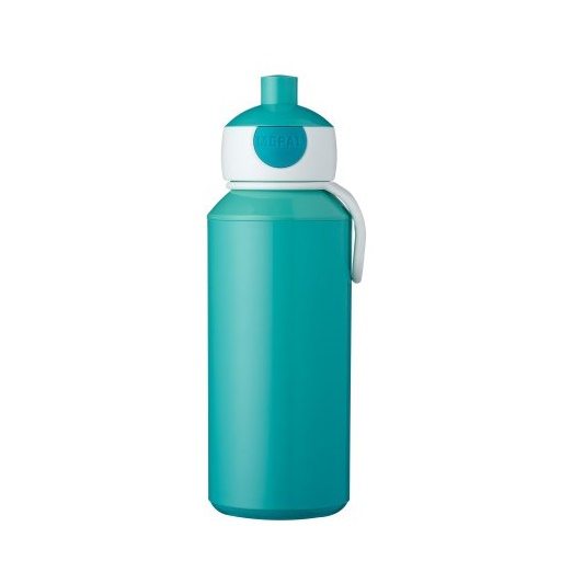 Drinkfles pop-up 400ml turquoise