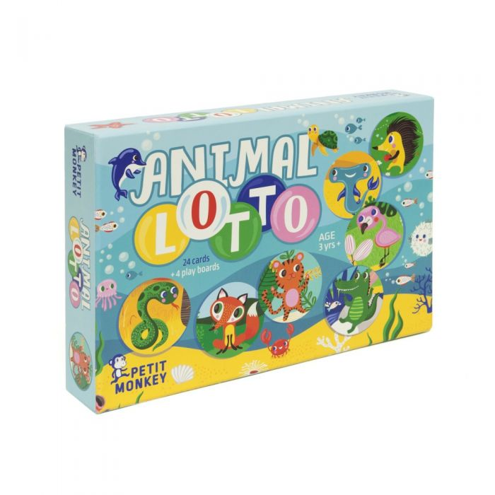 Animals lotto