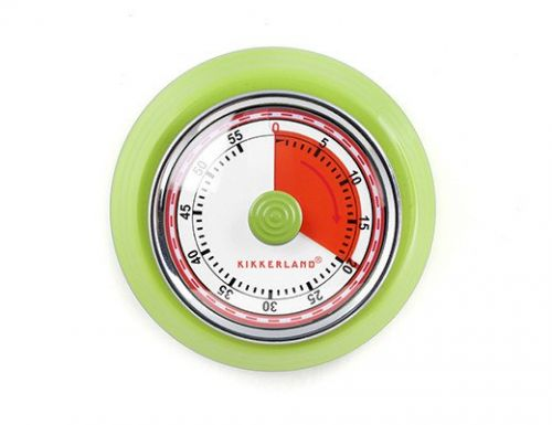 Magnetic kitchen timer green