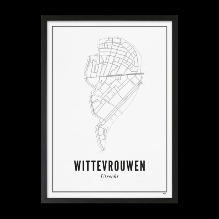 Utrecht Wittevrouwen 30x40