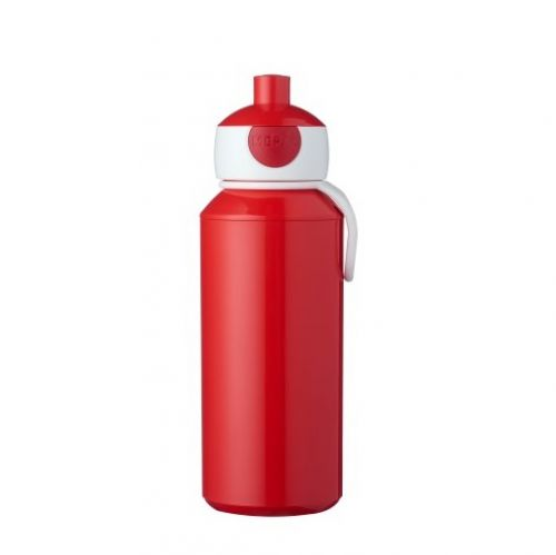 Drinkfles pop-up 400ml red