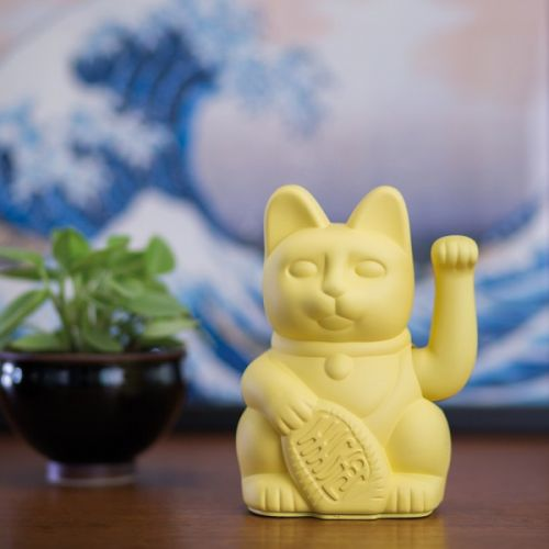 Lucky cat yellow