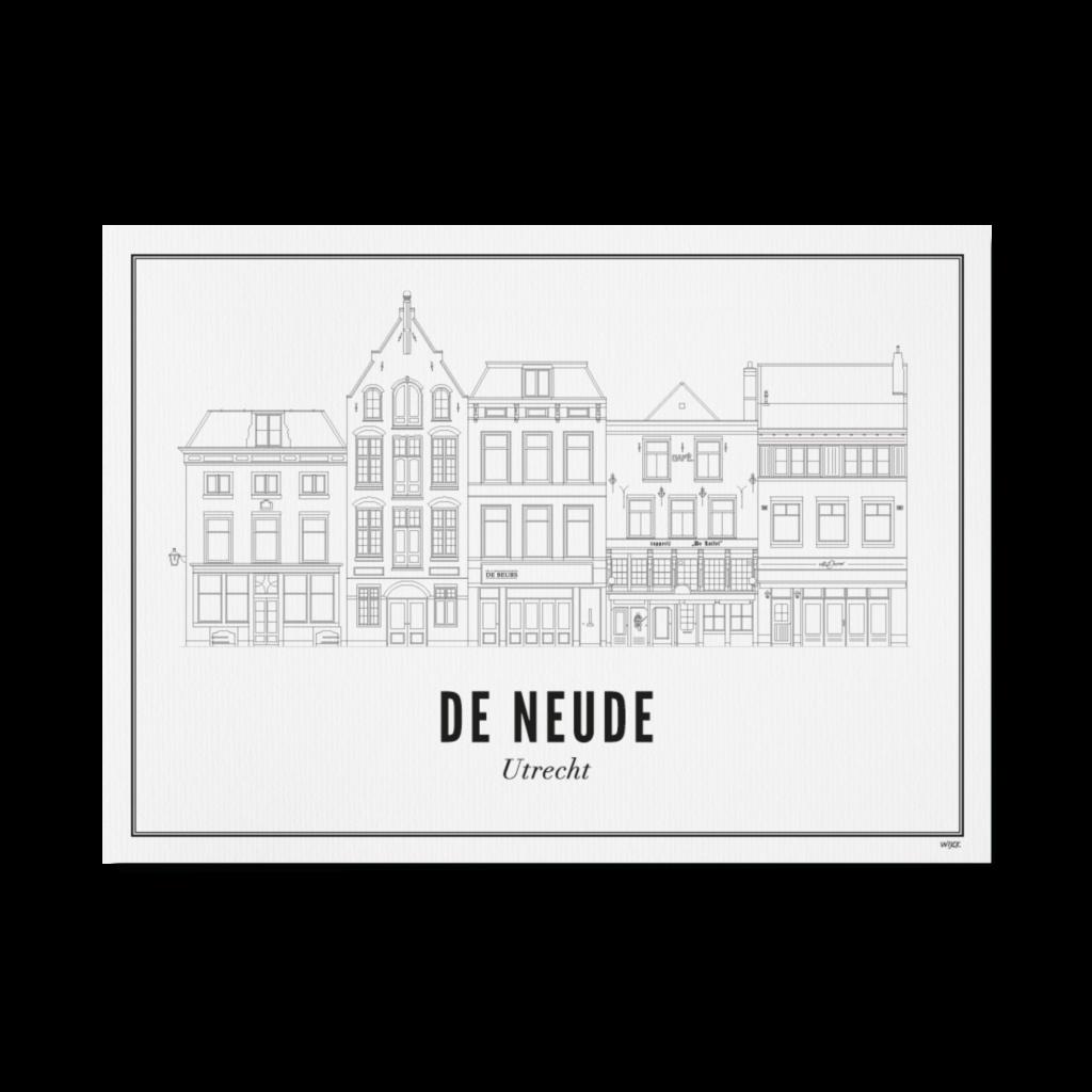 Utrecht de neude 50x70