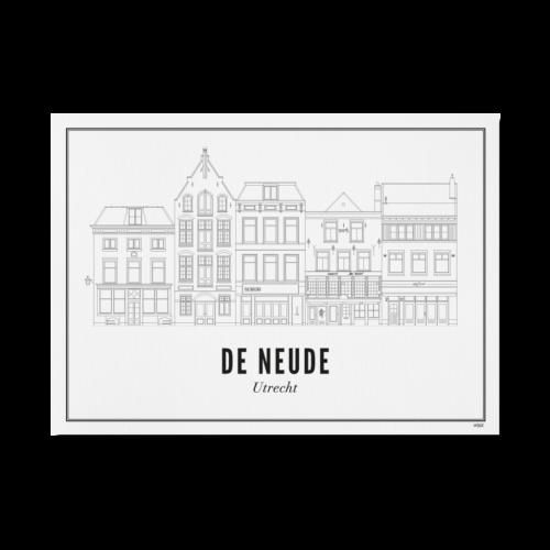 Utrecht de Neude ansichtkaart