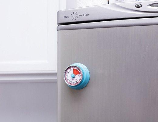 Magnetic kitchen timer blue
