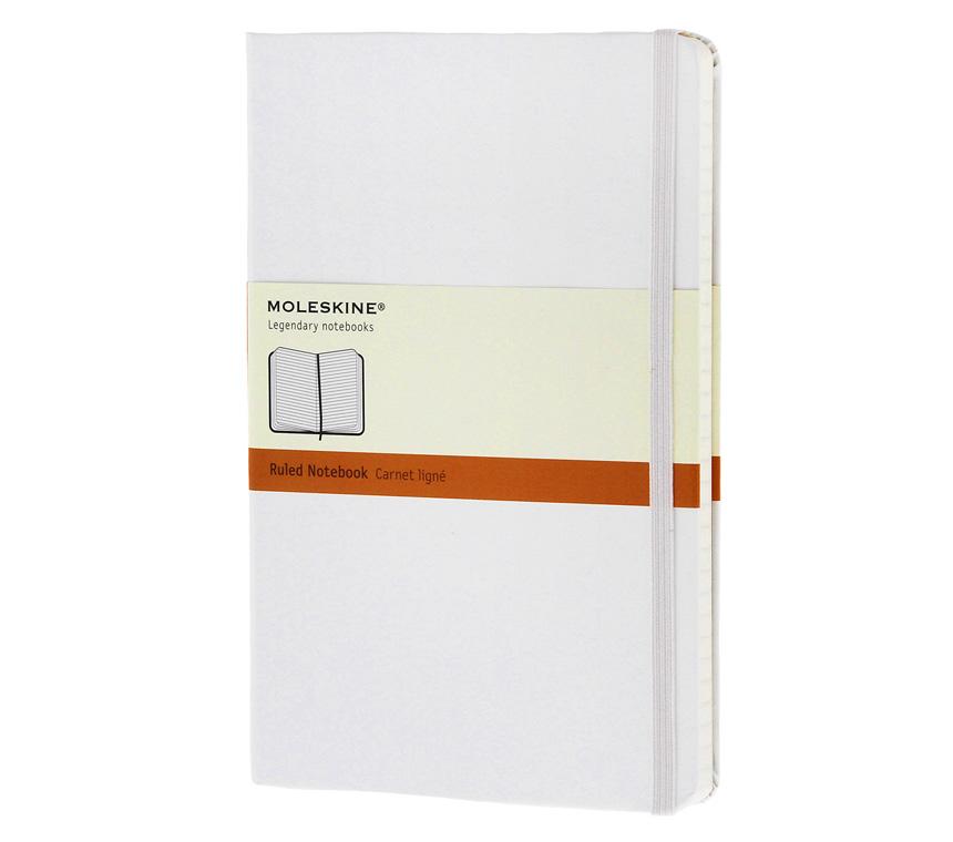 Moleskine - Pocket - Ruled notebook - White