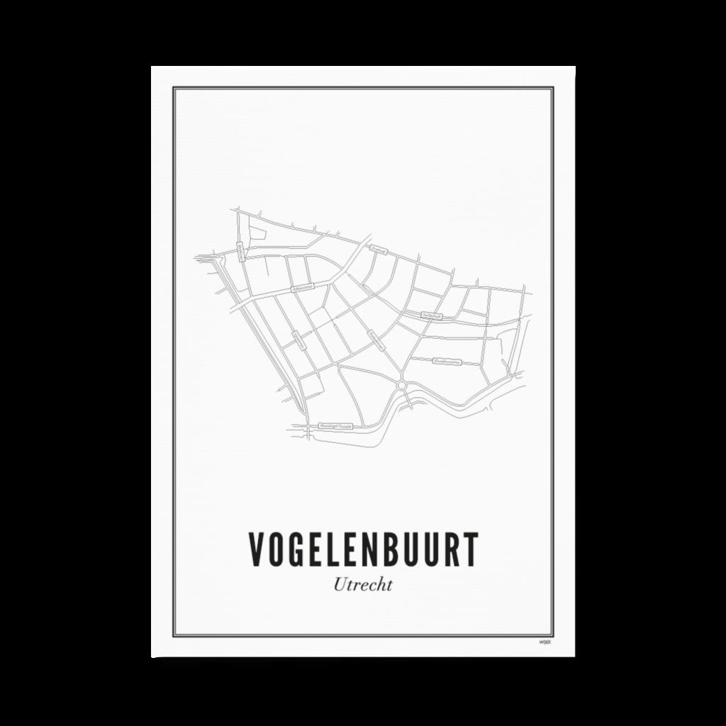 Utrecht Vogelenbuurt A4